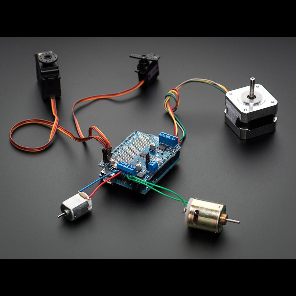 Arduino Playground - AdafruitMotorShield