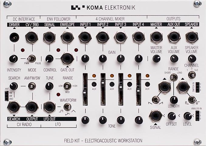 koma elektronik field kit eurorack panel